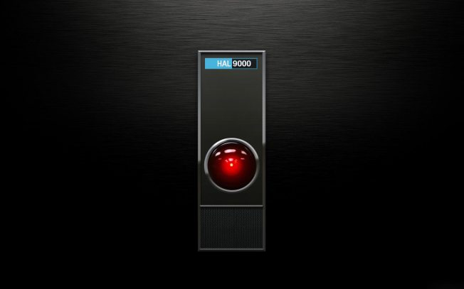 HAL_9000_is_a_fictional_computer_in_Arthur_C._Clarke's_Space_Odyssey_saga